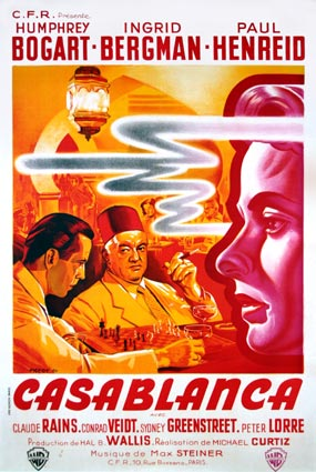 casablanca film techniques Putting radio and sound studies into conversation with cult film studies,  the  film's story through conventional broadcast 'techniques' (hilmes.
