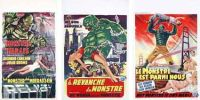 CREATURE FROM THE BLACK LAGOON (set of 3 posters)